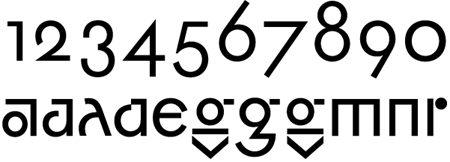 Futura alternative letters